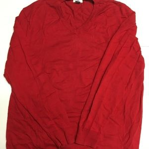 Old Navy Red Long Sleeve sweater